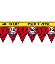 Markeerlint verkeersbord punt 50 jaar