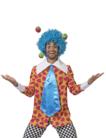 Clown cornflake | Vrolijke clowns kostuum