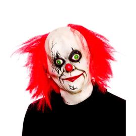 Latex masker - Full Head Creepy Clown