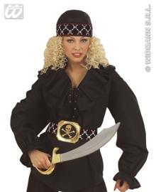 Bandana piraat deluxe