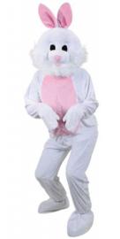 Wit konijnen kostuum deluxe