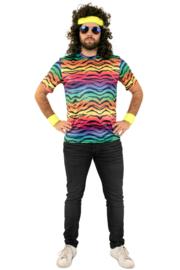 Neon tijger T-shirt origineel