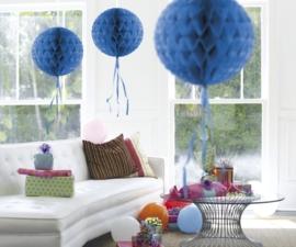 Honeycomb deco blauw