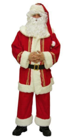Kerstmannen kostuum deluxe