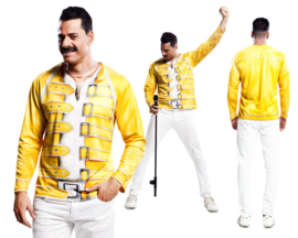 3D shirts Freddy Mercury