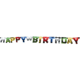 Letterbanner Happy Birthday