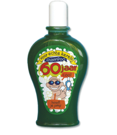 Shampoo fun 60 jaar man
