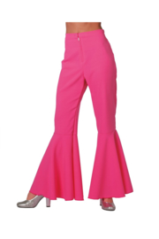 Disco broek dames pink