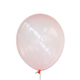 Bubbel ballonnen koraal 100 st.