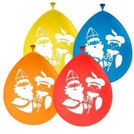 Ballonnen Sinterklaas en Piet
