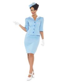 Stewardess chique kostuum