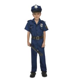 Politie kostuum jongen