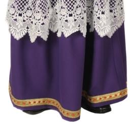 Sinterklaas rok paars