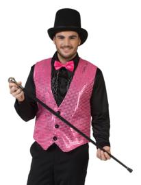 Gilet pink topper