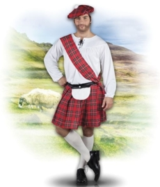 Schotse Highlander kostuum