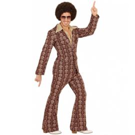 Groovy 70's  heren kostuum old school