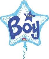 Folieballon 'Baby Boy' 3D (81cm)