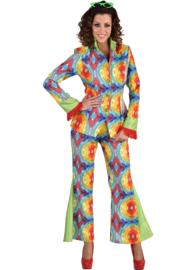 70's kostuum batik luxe