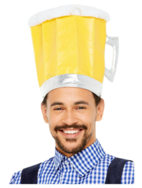 Oktoberfest bier hoed biertje!
