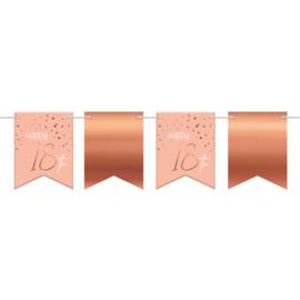 Vlaggenlijn Elegance lush blush 18 jaar