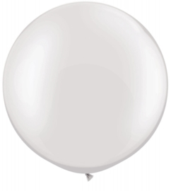 Ballon 90cm white qualatex