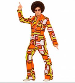 Groovy 70's  heren kostuum retro