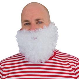Kleine baard met snor