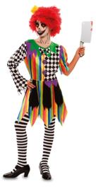 Sinister clowns jurkje meisjes