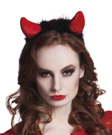 Tiara duivelsoren rood