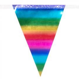 Mini Regenboog folie Vlaggenlijn