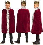 Koningsmantel bordeaux rood kind | the king