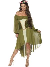 Fair maiden jurk