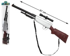 Jacht geweer met vizier |