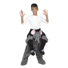 Olifant ride on kostuum kids