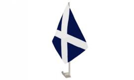 Schotland auto vlaggetje