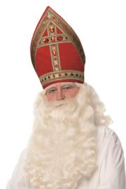 Kokermijter Sinterklaas fluweel