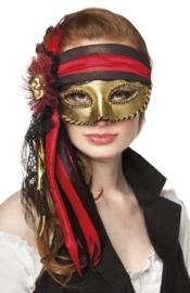 Venetiaans masker Donna Pirata