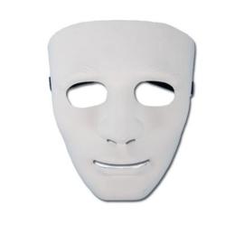 Masker anoniem wit