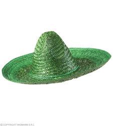 Mexicaanse sombrero groen