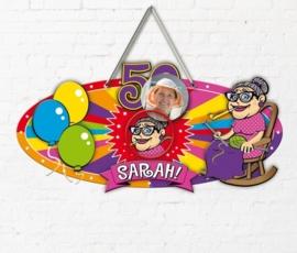 Sarah 3D deurbord