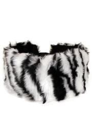 Bont hoofdband zebraprint
