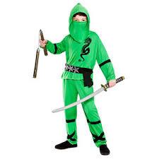 Power ninja kostuum groen