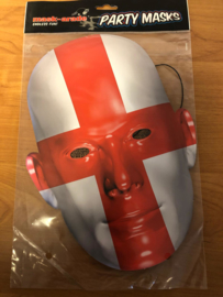 Kartonnen masker Engeland Op=Op