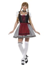 Flirty bavaria oktoberfest vrouwen kostuum