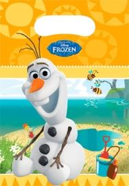 Frozen olaf uitdeelzakjes OP = OP