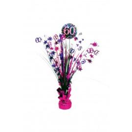 Tafel deco sparkling pink 60