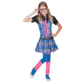 Schoolgirl jurkje meisje