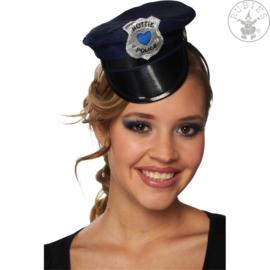 Politiehoedje op haarband | Shiney