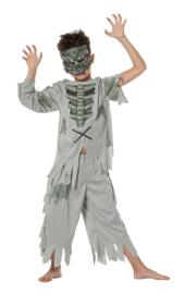 Zombie boy kostuum