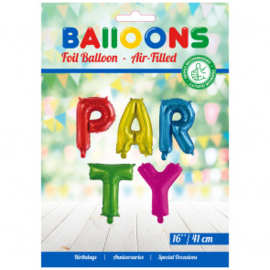 Folieballon 'PARTY'